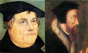 لوثر وكالفن